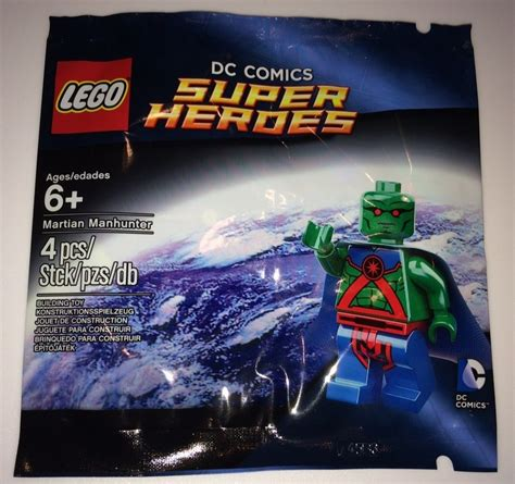 Dijamin Lego Minifigure Martian Manhunter Polybag lego martian manhunter minifigure promo sold out bricks and bloks