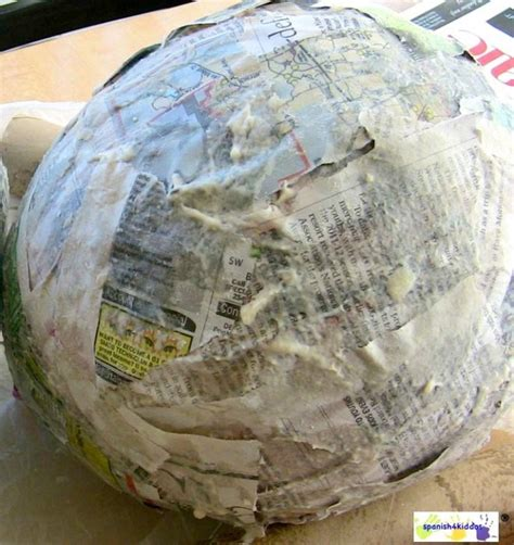 How To Make Paper Mache Crafts - how to paper mache make a bunny easter craft