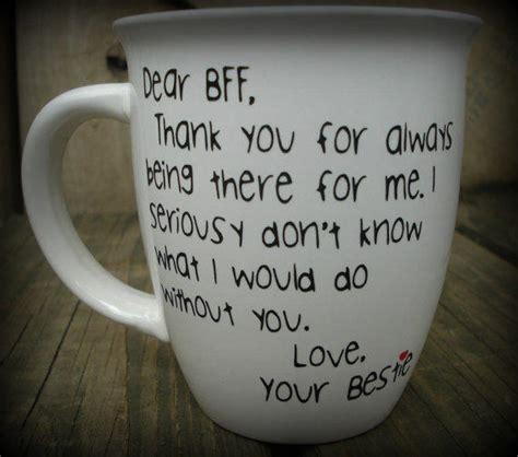 Dear BFF, Best Friend Mug, Best Friend from Sammieslettering