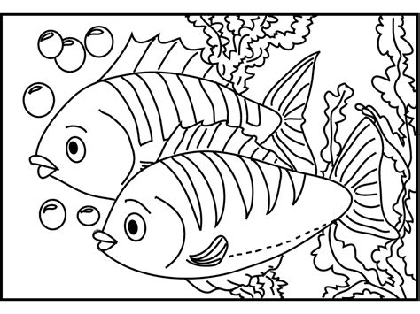 x ray fish coloring page az coloring pages