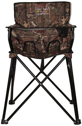 Camo Portable High Chair by Best Camo Baby Stuff