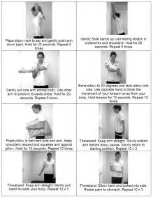 shoulder exercise active lifestyle physiotherapy