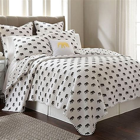 bed bath and beyond quilt ernest quilt in grey bed bath beyond