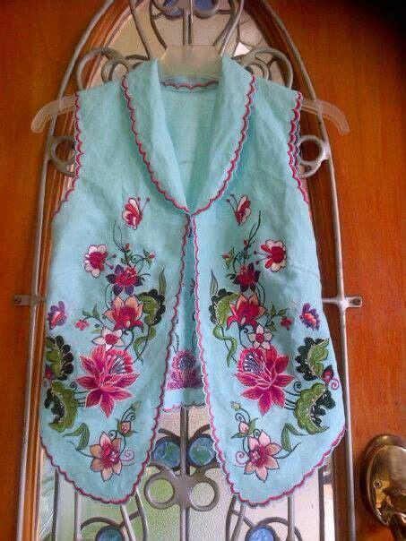 Bolero Vintage Batik Unik 2 bolero batik clothes