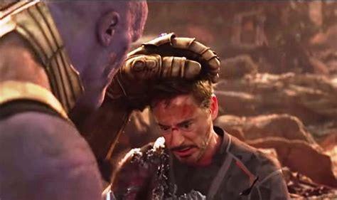tony stark iron man die avengers endgame