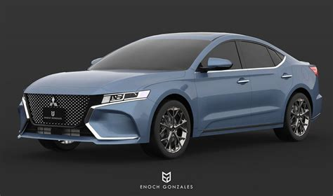 2020 Mitsubishi Galant 2020 mitsubishi galant visualize rebirth of mid size sedan