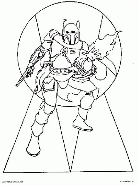 coloring pages star wars boba fett star wars coloring pages boba fett coloring home