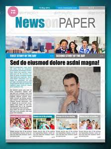 Adobe Indesign Newspaper Templates Free by Indesign Newspaper Templates Bestsellerbookdb
