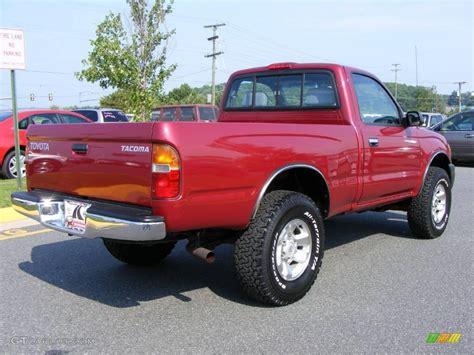 2000 Toyota Tacoma 4x4 2000 Cardinal Toyota Tacoma Regular Cab 4x4 15874098
