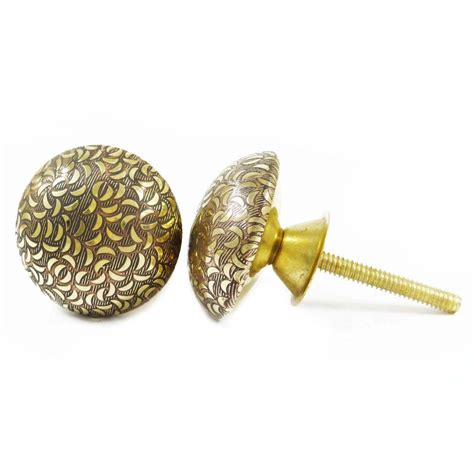 Decorative Knobs For Cabinets by Indian Brass Knobs Decorative Knobs Drawer Cabinet Pull