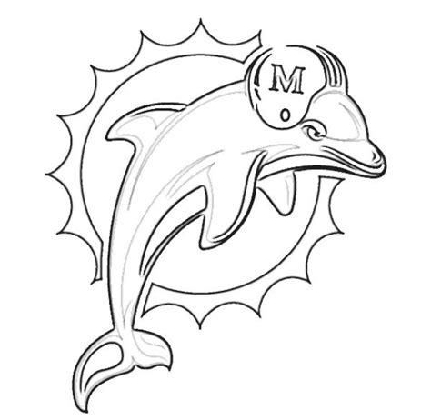 coloring pages of miami dolphins 30 best crafting nfl coloring pages images on pinterest