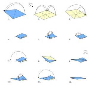 Origami Bird Directions - file origami bird base svg wikimedia commons