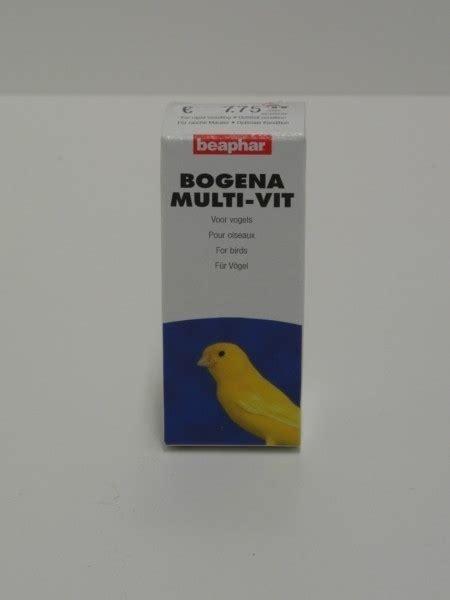 Bogena Multivit 16101 beaphar multivit vogels 20 ml bevat 12 verschillende