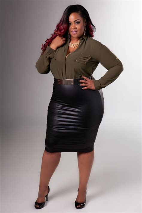plus size fashion chic and curvy boutique plus size