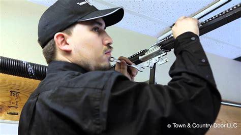 Garage Door Opener Chain Tension by How To Adjust The Chain Tension Of Garage Door Opener
