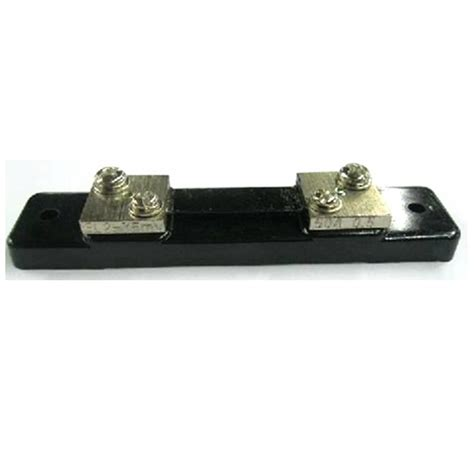 ammeter shunt resistor aliexpress buy dc 50a 75mv current shunt resistor panel for digital meter analog meter