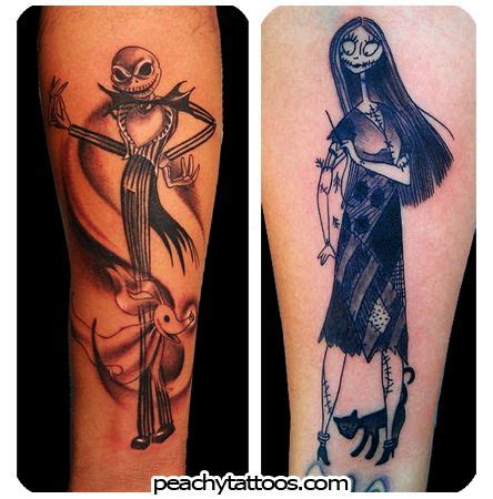 nightmare before christmas couples tattoos 17 best quotes on