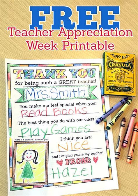 Appreciation Printables