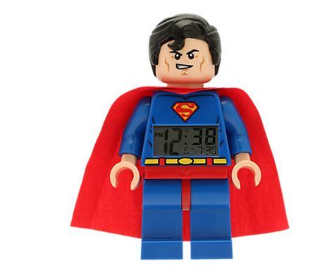 libro lego dc super heroes lego 174 dc comics super heroes superman minifigure clock 5002424 dc comics super heroes