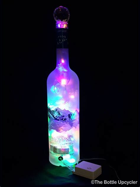 Mixing Light And Liquor by Grey Goose Liquor Bottle Light Multicolored Led S The