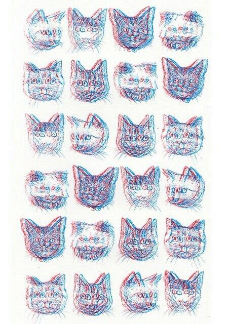 cat background pattern tumblr bruhhh 3d cats image 2304970 by marky on favim com