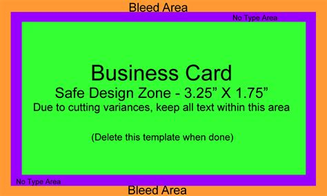bleed business card template custom business cards upload and print custom business