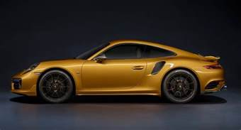 Porsche 911 Turbo Porsche 911 Turbo S Exclusive Series Is The Most Powerful