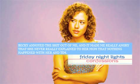 Becky Friday Lights by Friday Lights Confessions