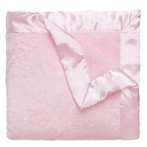 decke pink personalized microplush blanket light pink baby blankets