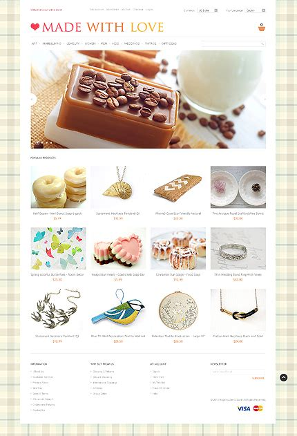 Handmade Craft Websites - image gallery handmade jewelry websites