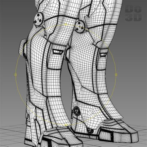 Iron 39 Gemini Papercraft iron 3 suit 39 gemini 17 h 3d model