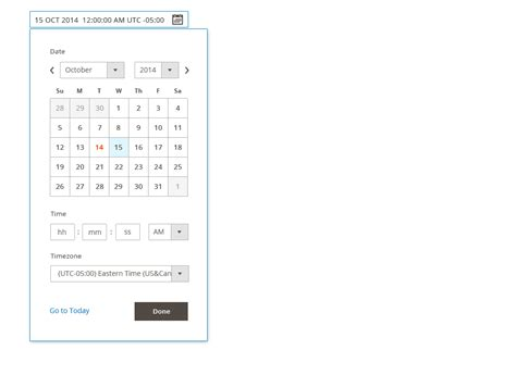 html input pattern for date admin design pattern library magento 2 developer