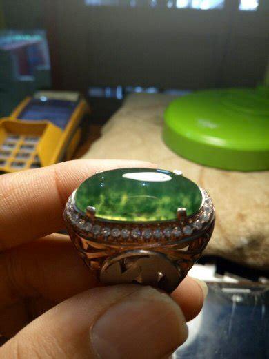 Cincin Batu Lumut Sungai Dareh jual beli batu lumut sungai dareh emerald green baru
