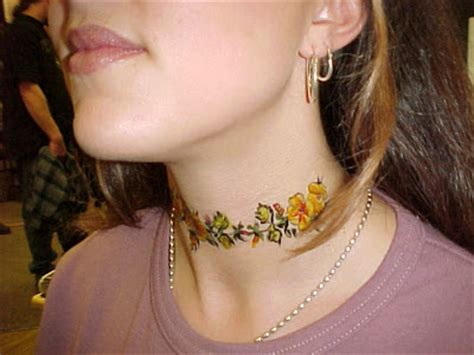 is getting a tattoo on your neck dangerous women s ink neck tattoos for women good or bad idea