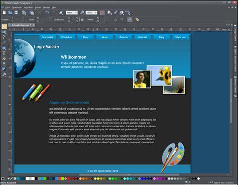 Design Vorlagen Magix Webdesigner Magix Web Designer Mx Bei Freeware