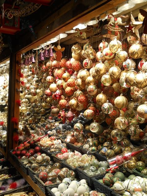 christmas ornaments in vienna austria the little things