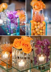 purple and orange wedding theme weddings by lilly