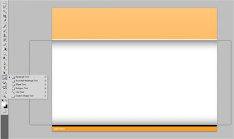 template header photoshop how to create an internal slide in photoshop for