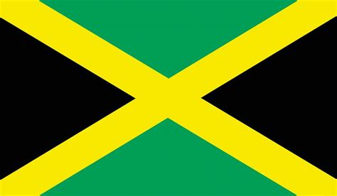 jamaica flag color what do the colors and symbols of the flag of jamaica