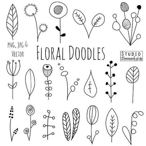 doodle nature nature dessins botaniques and fleur on