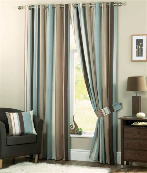 striped drapery panels striped curtains for classy windows furnitureanddecors