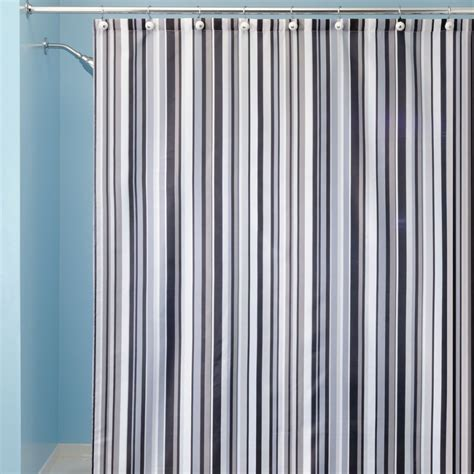 Striped Shower Curtains by Striped Shower Curtains Furniture Ideas Deltaangelgroup