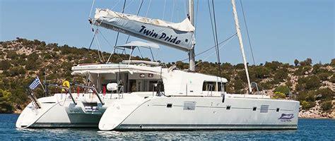 greek island catamaran hire lagoon 500 crewed catamaran charter greece main 1