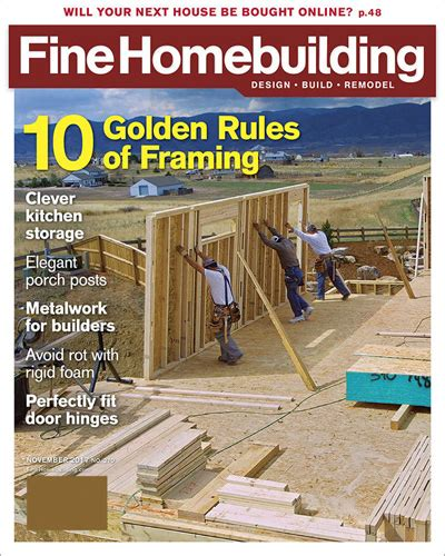 fine homebuilding magazine fine homebuilding subscription woodworker magazine