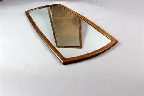 mid century modern mirrors mid century modern teak framed wall mirror mid century