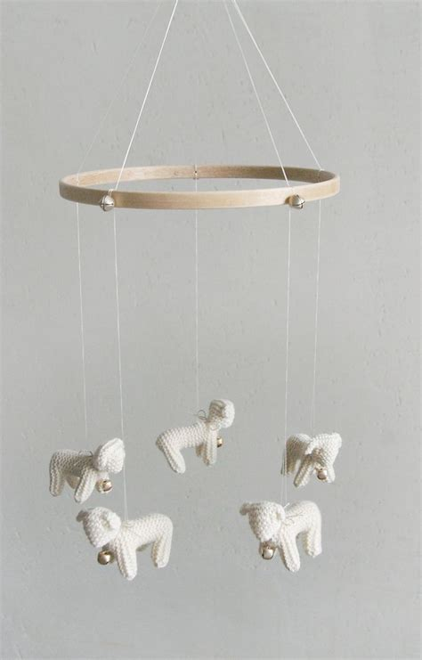 Baby Mobile For Crib Nursery Mobile Baby Mobile Mobile Sheep Mobile Baby Cribs Baby Mobiles And Babies