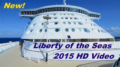 Liberty of the Seas: Port Galveston 1st Voyage 11/2015. HD