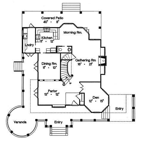 victorian floor plan keaton hill victorian home plan 047d 0152 house plans