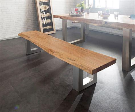 Gestell Sitzbank by Sitzbank Live Edge 195x40 Akazie Natur Gestell Breit M 246 Bel