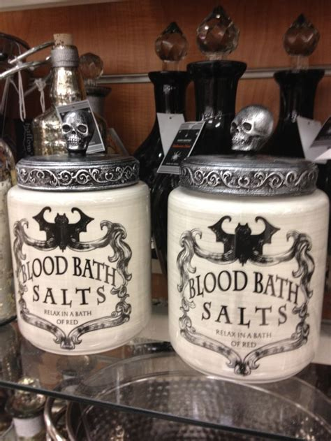 Ceramic Kitchen Canister blood bath salts canister exact item on the hunt